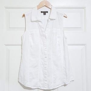 Tommy Bahama sleeveless button up shirt